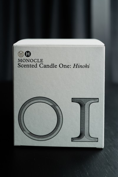 MONOCLE Candle One: Hinoki